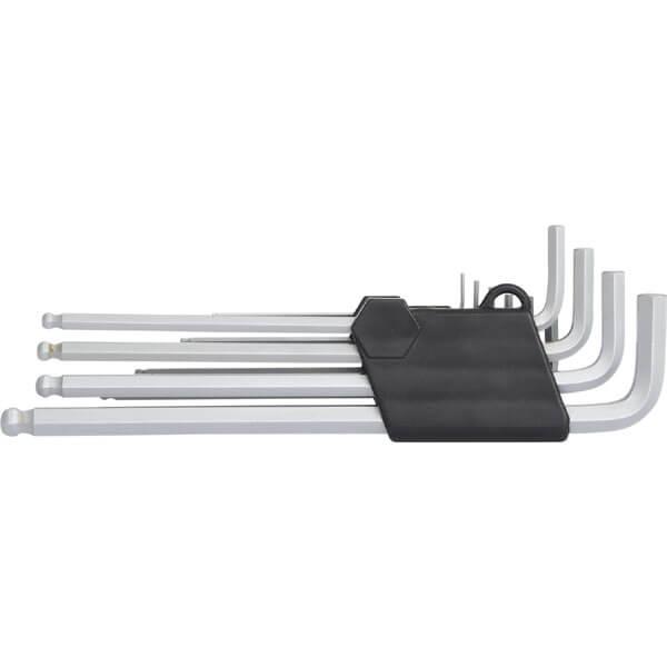 5mm KS TOOLS Kugelkopf-Innensechskant-Winkelstiftschlüssel lang 151.2105