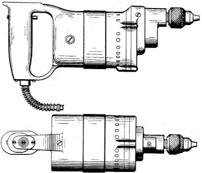 Erste Bohrmaschine von Milwaukee
