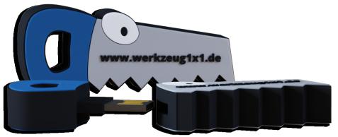 Werkzeug1x1 USB Stick Säge